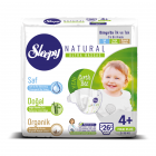 Sleepy Natural Bebek Bezi Maxi Plus 4+ No 26 lı