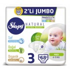Sleepy Natural Bebek Bezi Midi 3 No 68 li