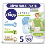 Sleepy Natural Külot Bez Mega Paket Junior 5 No 100 lü