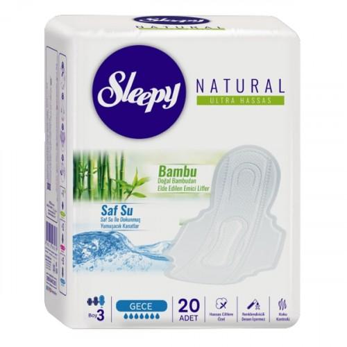 Sleepy Natural Hijyenik Ped Ultra Hassas Gece