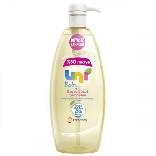 Uni Baby Şampuan Boyasız 900 ml
