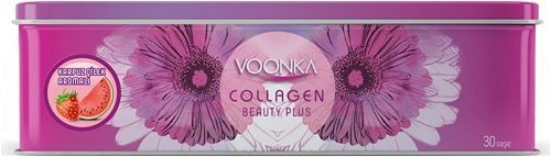 Voonka Collagen Beauty Plus Karpuz Çilek Aromalı 30 Şase