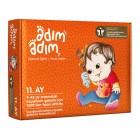 Adım Adım Bebek Eğitim Seti 11.Ay