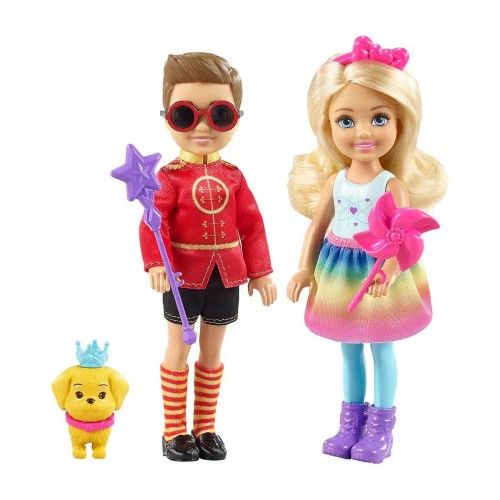 Barbie Chelsea ve Notto Bir Arada Oyun Seti FRB14
