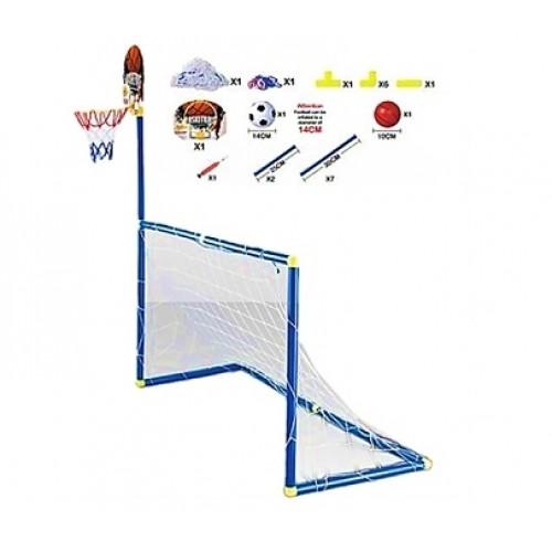 Gepet Toys Basketbol Dart Ve Futbol Seti