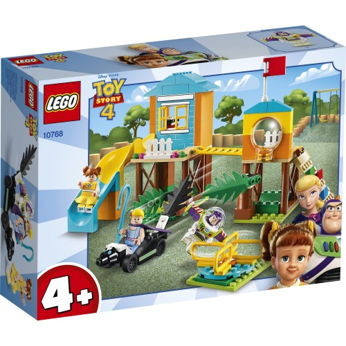 Lego Juniors Toy Story 4 Buzz ve Bo Peep'in Park Macerası 10768