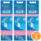 Oral-B EBS17 Sensitive Clean Diş Fırçası Yedeği 2 li x 3 Adet