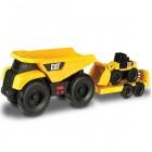 Cat Mini Römork ve Araç Seti Sesli ve Işıklı 34760