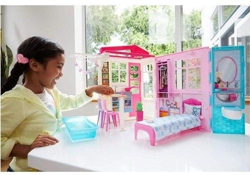 Barbie Taşınabilir Portatif Evi FXG54