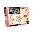 Blue Focus Yayınları Baby Round Puzzle- Meslekler BF075