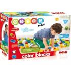 Dolu Renkli Bloklar 56 Parça 5013