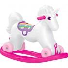 Dolu Unicorn Sallanan Tekerleklı At 2509