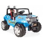 Pilsan Ranger Akülü Araba 12 Volt (Uzaktan Kumandalı) Mavi 05 107