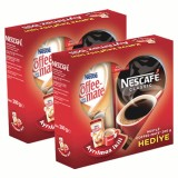 Nescafe Classic Eko 200gr + 200gr Coffe Mate Hediyeli x 2 Adet