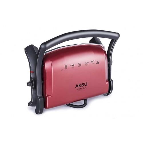 Aksu T28E Tostadoy Granit Tost Makinesi (Kırmızı)