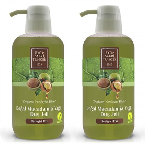 Eyüp Sabri Tuncer Duş Jeli Macadamia Yağı 600 ml x 2 Adet
