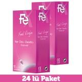 Fe Feel Virgin Nar Özlü Daraltıcı Prezervatif 12 li x 2 Adet