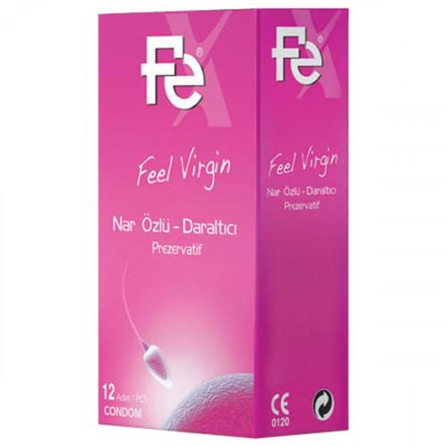 Fe Feel Virgin Nar Özlü Daraltıcı Kondom 12 li