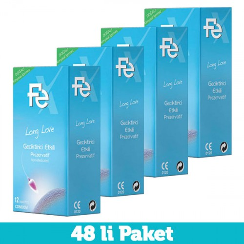 Fe Long Love Etkili Prezervatif 12 li x 4 Adet