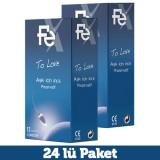 Fe To Love Aşk İçin İnce Prezervatif 12 li x 2 Adet