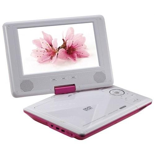 Goldmaster Fiore Portatif DVD Player (Pembe)