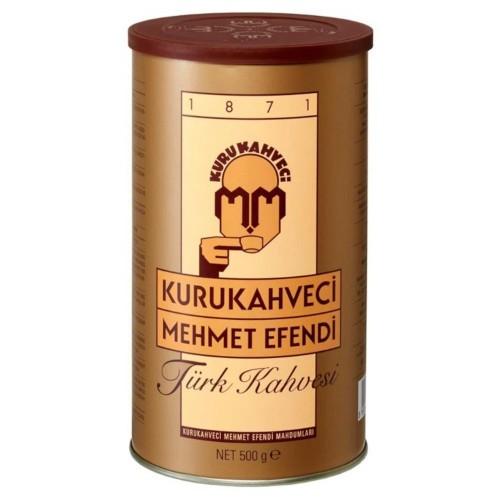 Kurukahveci Mehmet Efendi Türk Kahvesi Teneke 500 gr