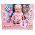 Sunman BouBou Bebeğim ve Tuvalet Eğitimi 30 cm.