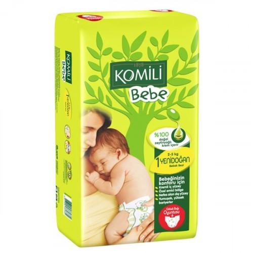 Komili Bebe Bebek Bezi Yenidoğan 1 No  40 Lı