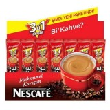 Nescafe 3 in 1 Tek İçim 18,5 Gr x 56 Adet