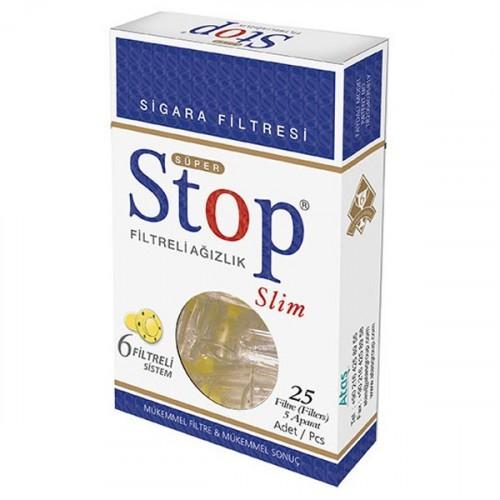 Stop Filtreli Ağızlık Slim 25 li