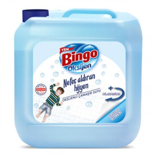 Bingo Oksijen Çamaşır Suyu Hassas Hijyen 3,5 lt