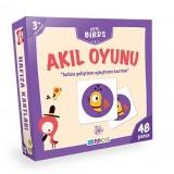 Blue Focus Yayınları Cute Birds Akıl Oyunu