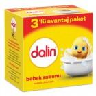 Dalin Bebe Sabun 100 gr (3lü Avantaj Paketi)