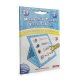 Diy-Toy Yayınları Manyetk Tablet Yazı Tahtası-Mavi 0585