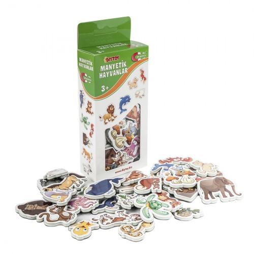 Diy-Toy Yayınları Manyetik Hayvanlar 0219