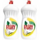 Fairy Sıvı Bulaşık Deterjanı Limon 1350 ml x 2 Adet