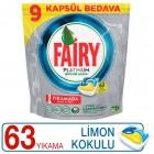 Fairy Platinum Bulaşık Makinesi Kapsülü 63 lü
