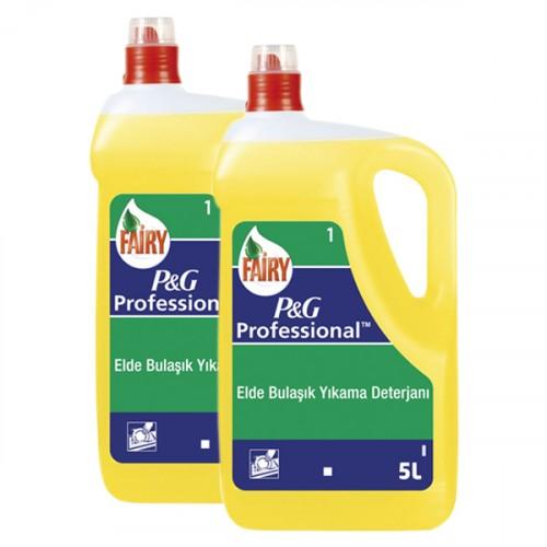Fairy Sıvı Bulaşık Deterjanı 5000 ml (P&G Professional) x 2 Adet