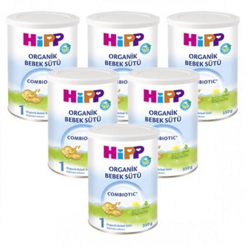 Hipp 1 Organic Combiotic Bebek Sütü 350 gr x 6 Adet