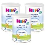 Hipp 2 Organic Combiotic Devam Sütü 350 gr x 3 Adet