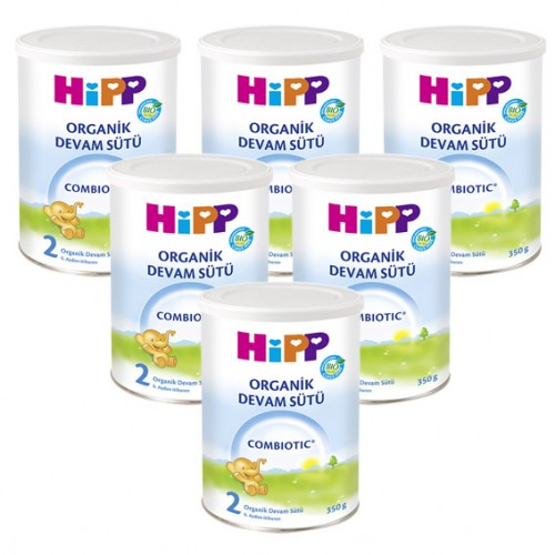 Hipp 2 Organic Combiotic Devam Sütü 350 gr x 6 Adet
