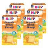 Hipp Organik Bebek Ekmeği 100 gr x 6 Adet