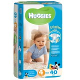 Huggies Erkek Bebek Bezi Maxi 4 Beden 40 lı