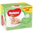 Huggies Islak Havlu Doğal Bakım 56 lı x 24 Adet (1344 Yaprak)