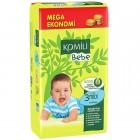 Komili Bebe Bebek Bezi Jumbo Midi 3 No 54Lü