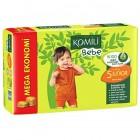 Komili Bebe Jumbo Junior Bebek Bezi 5 No 36 Lı
