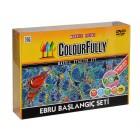 Kum Toys Ebru Sanatı Başlangç Seti DVD'li