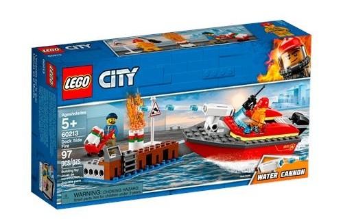 Lego City Rıhtım Yangını 60213
