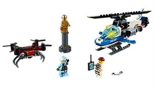 Lego City S Police Drone C 60207