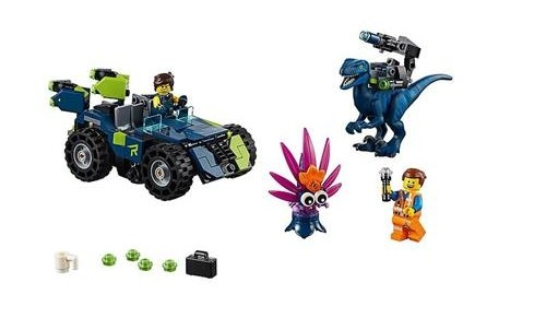 Lego Movie 2 Rexs R Offroader 70826